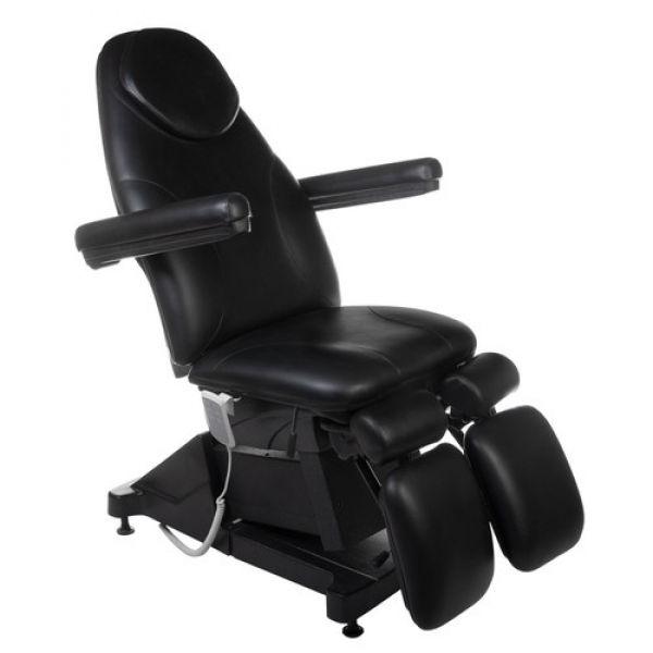 Elektryczny fotel kosmetyczny AMALFI BT-156 Czarny #1