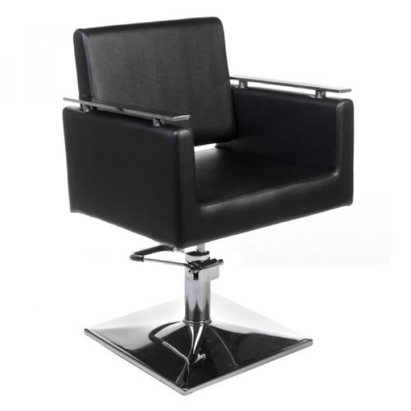 Fotel fryzjerski MILO BH-6333 czarny #1