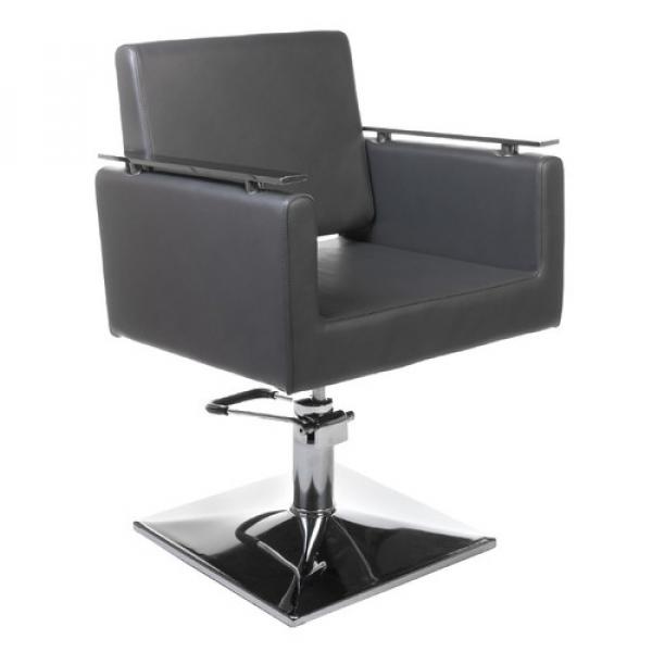 Fotel fryzjerski MILO BH-6333 szary #1