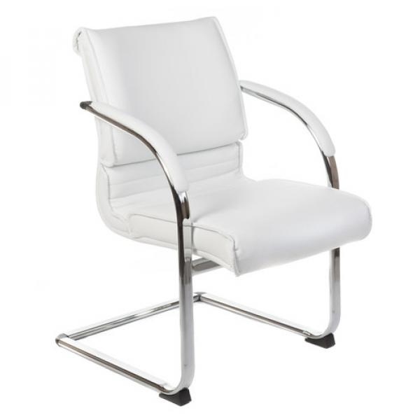 Fotel konferencyjny CorpoComfort BX-3339B Biały #1
