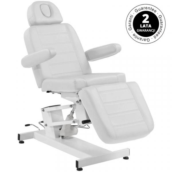 Fotel Kosmetyczny Elektr. Azzurro 705 1 Siln. Biały #1