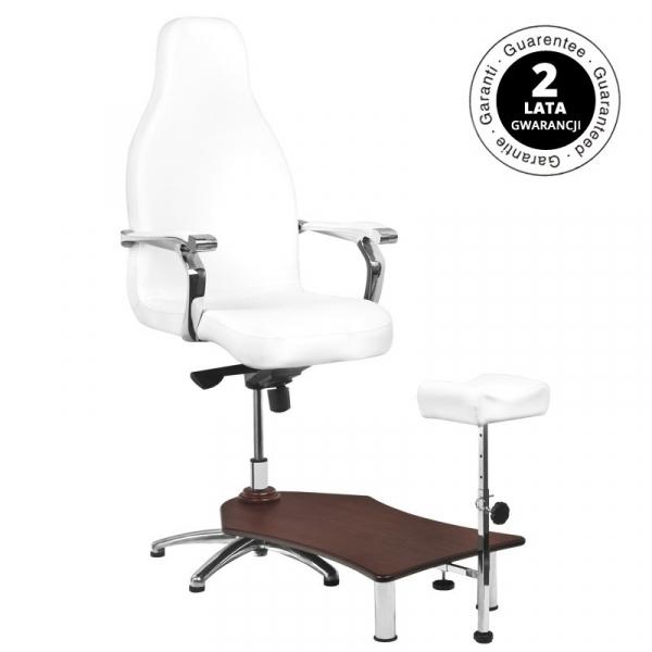 Fotel Spa Do Pedicure Azzurro 230 Biały #1
