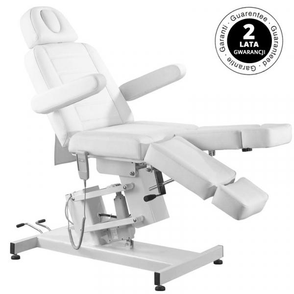 Fotel Kosmetyczny Elektr. Azzurro 706 Pedi 1 Siln. Biały #1