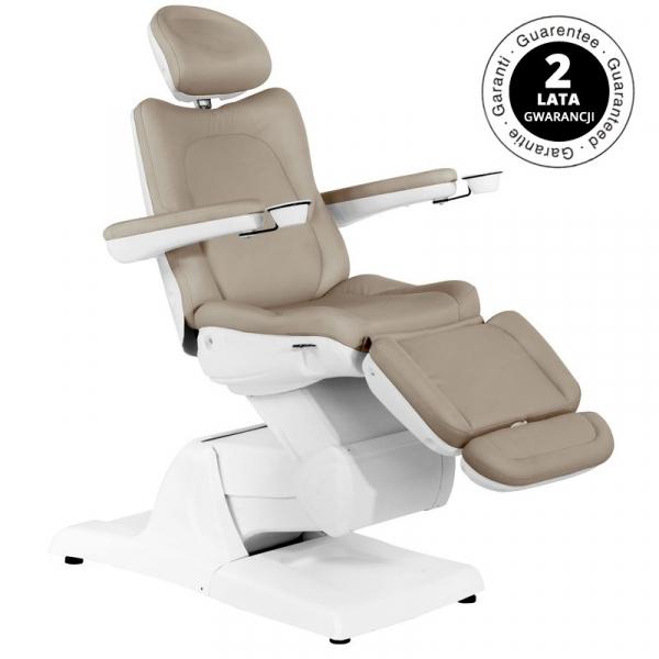 Fotel Kosmetyczny Elektr. Azzurro 870 3 Siln. Cappuccino #1