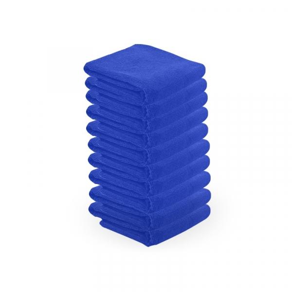 Ręcznik Z Microfibry 73x40cm 10szt Niebieski #1