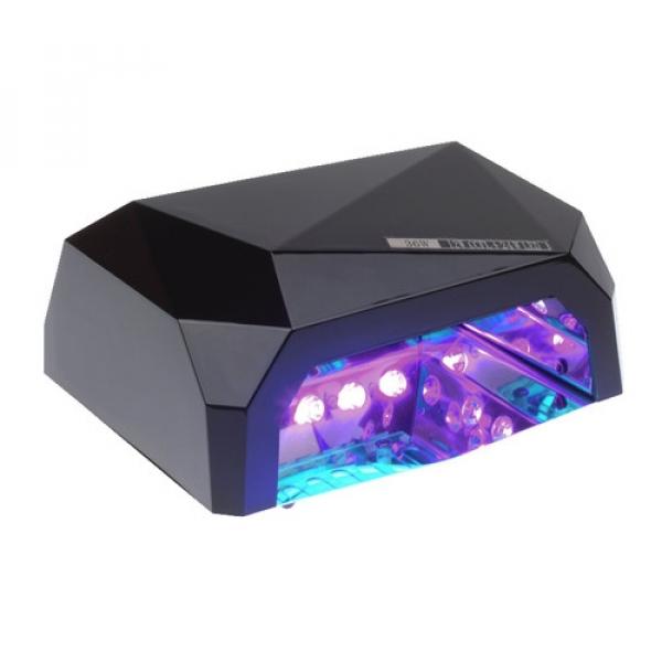 Lampa Led 36W Diamond Do Paznokci BS-557 Czarn #1