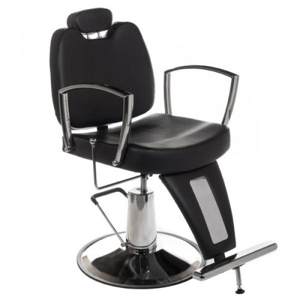 Fotel Barberski Homer II BH-31275 Czarny #1