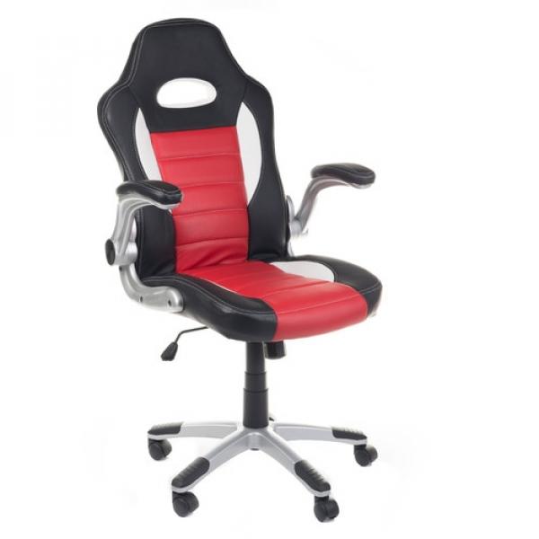 Fotel Gamingowy Racer Corpocomfort BX-6923 Czerwon #1
