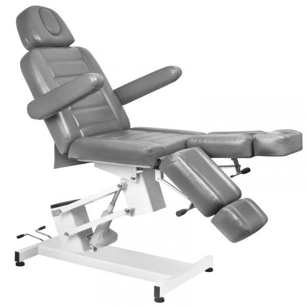 Fotel Kosmetyczny Elektr. Azzurro 706 Pedi 1 Siln. Szary #1