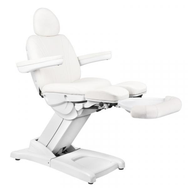 Fotel Kosmetyczny Elektr. Azzurro 872S Pedi-Pro 3 Siln. Biały #1