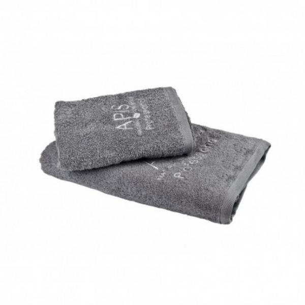 Apis Ręcznik Frotte Z Logo 50x90 – Szary #1