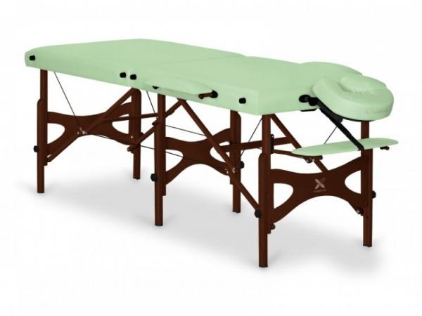 Stół do masażu Alba, Szerokość 60 cm (Stelaż Buk Barwiony) #1