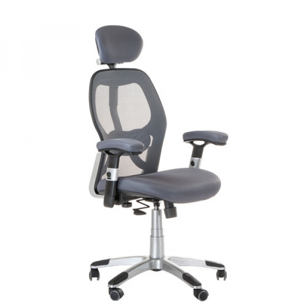 Fotel Ergonomiczny CorpoComfort BX-4144 Szary #1