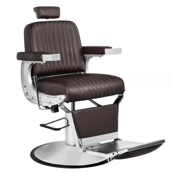 Gabbiano Fotel Barberski Continental Brązowy #1