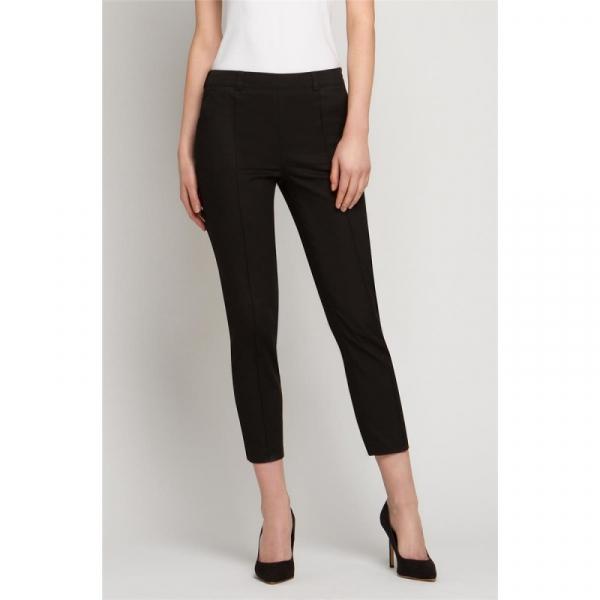 Spodnie Kosmetyczne Cygaretki Czarne, Rozmiar 44 #1