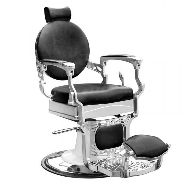 Gabbiano Fotel Barberski President Czarny #1