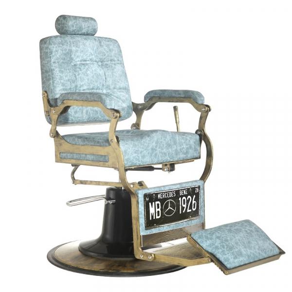 Gabbiano Fotel Barberski Boss Marmur #1