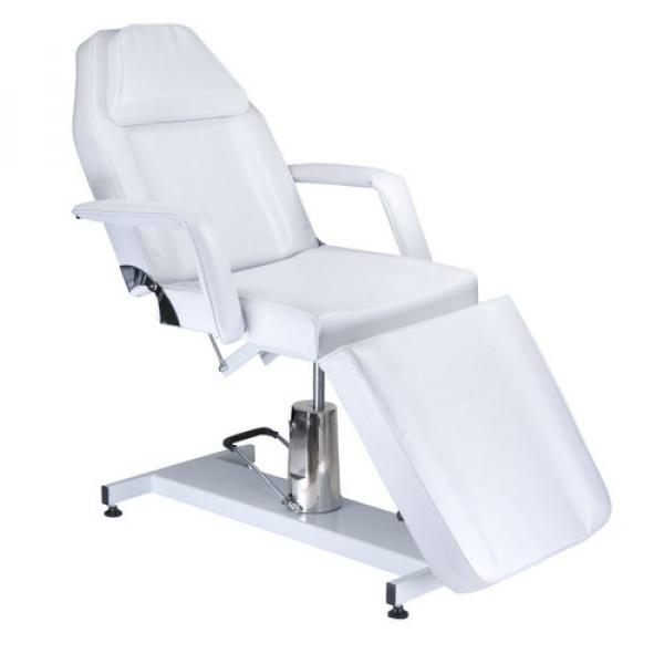 Fotel Kosmetyczny Hydrauliczny BW-210 Biały #1