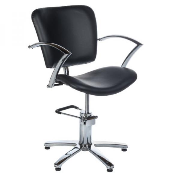Fotel Fryzjerski Dario Czarny BH-6113 #1