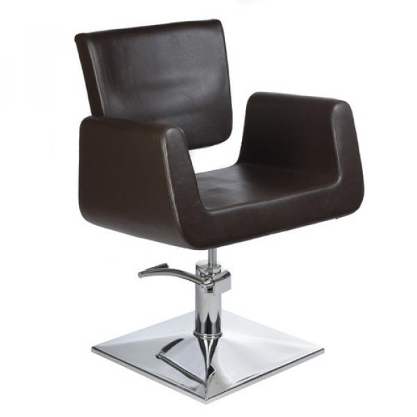 Fotel Fryzjerski Vito BH-8802 Brązowy #1
