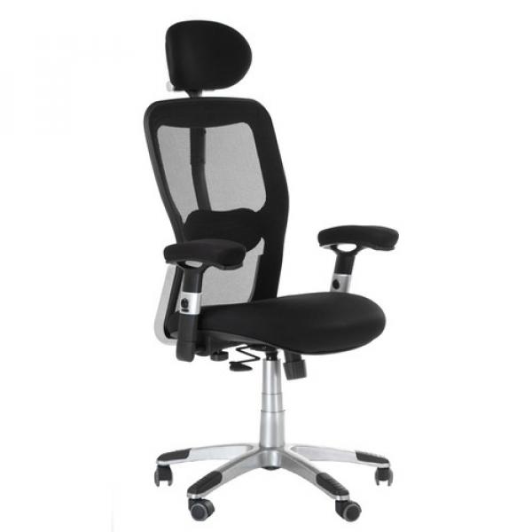Fotel Ergonomiczny Corpocomfort BX-4147 Czarny #1
