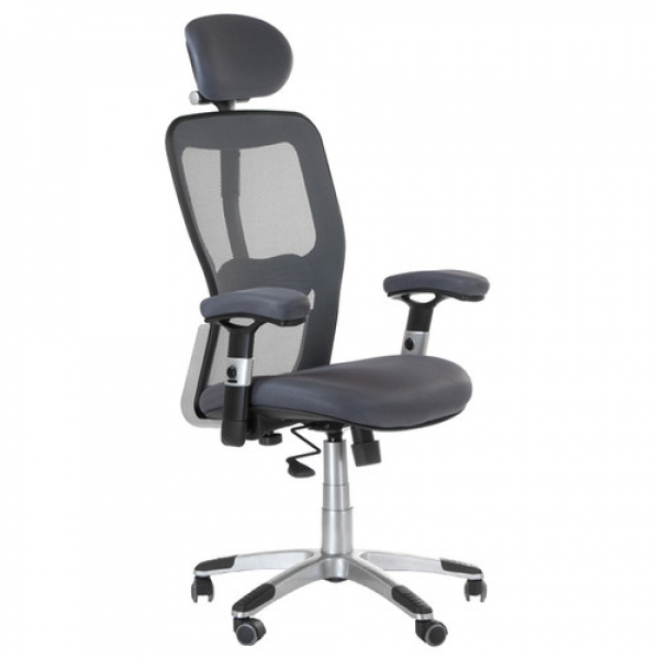 Fotel Ergonomiczny Corpocomfort BX-4147 Szary #1
