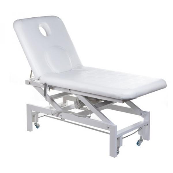 Elektryczne Łóżko Do Masażu BT-2114 Białe #1