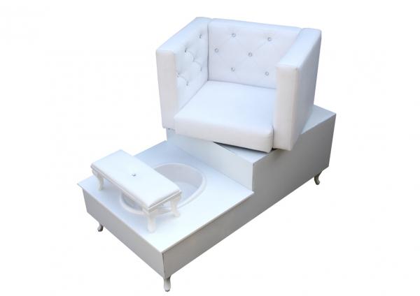 Fotel Do Pedicure Spa I Obrotowy #1