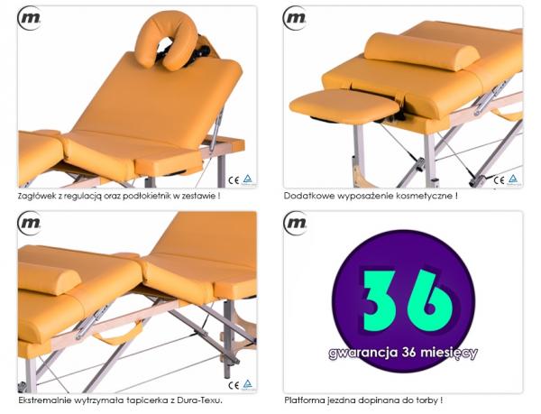 Stół do masażu składany Cosmo Alu #4