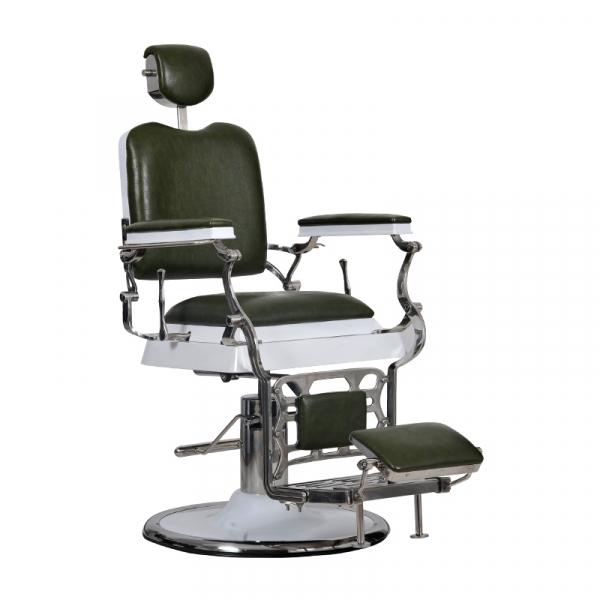 Fotel Barber Maestro Zielony #1