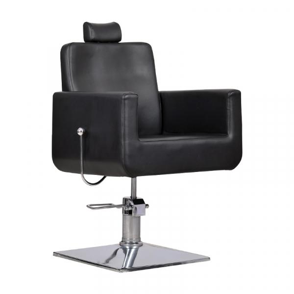 Fotel Fryzjerski Bell Bis Czarny #1