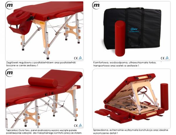 Stół do masażu przenośny Reflex Ultra Alu #3