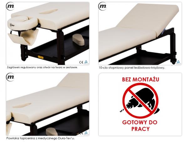 Stół Do Masażu Stacjonarny Spa Plus Venge #1
