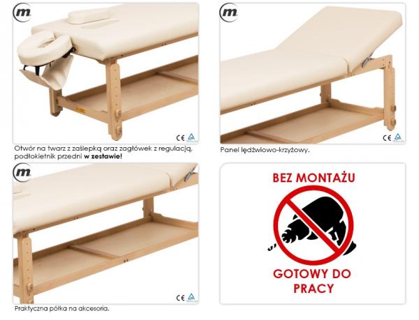 Stół Do Masażu Stacjonarny Spa Plus #3