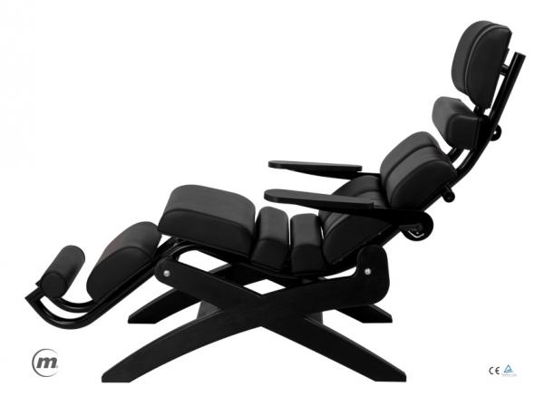 Fotel Ergonomiczny Zero Gravity Zerog Black #1