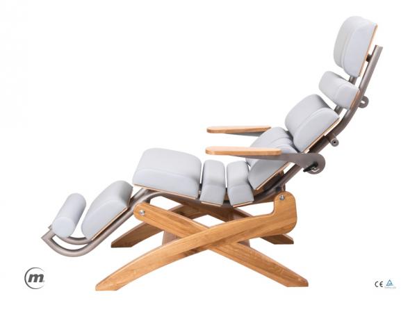 Fotel Ergonomiczny Zero Gravity Zerog Oak #1
