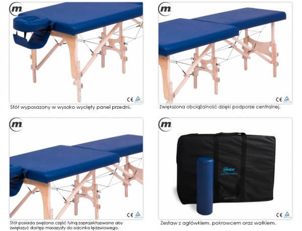 Stół Do Masażu Składany Premium SE #3