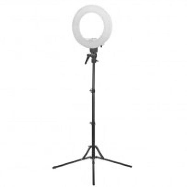 "Lampa Light Ring 12"" 35w Led Biała + Statyw #1"