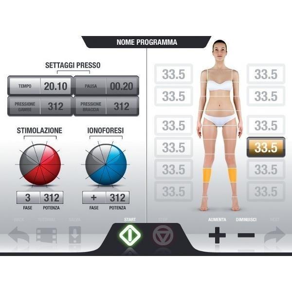 Urządzenie Masaż Ciśnieniowy Elektrostymulacja-3132/8 #10