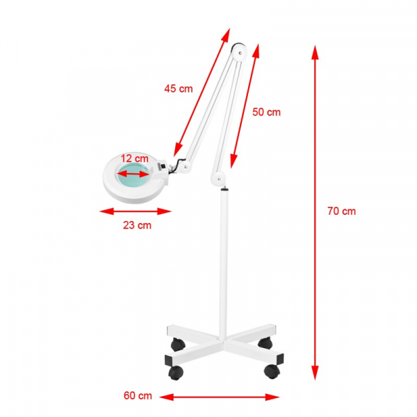 Lampa Lupa S4 + Statyw #2