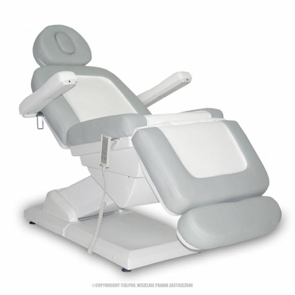 Fotel Kosmetyczny S-Lux Biały/Popiel #5