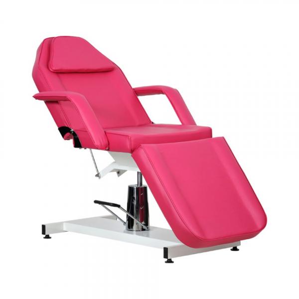 Fotel Kosmetyczny Standard Bis RÓŻOWY #1