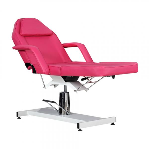 Fotel Kosmetyczny Standard Bis RÓŻOWY #5