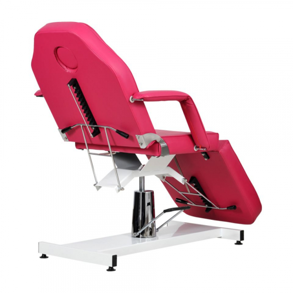 Fotel Kosmetyczny Standard Bis RÓŻOWY #6