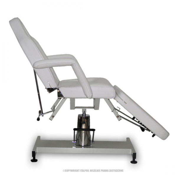 Fotel Kosmetyczny Standard Bis Biały #5