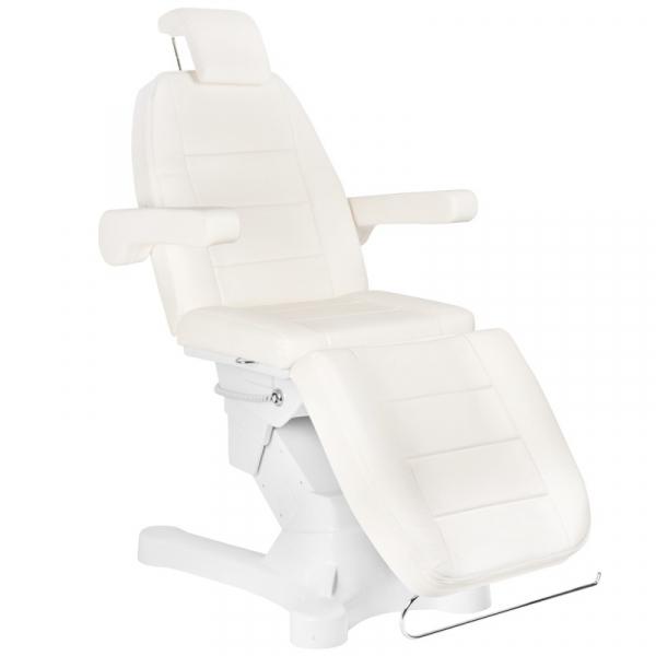 Fotel Kosmetyczny Elektr. A-207 kość słoniowa (4 Silniki) #3