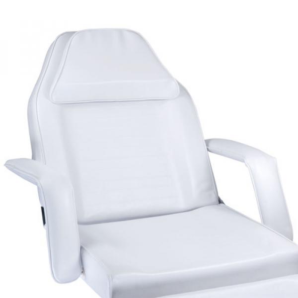 Fotel Kosmetyczny Hydrauliczny BW-210 Biały #4