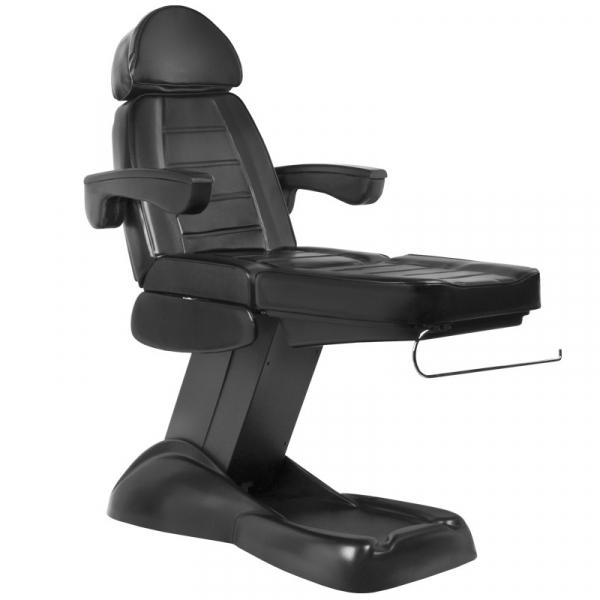Fotel Kosmetyczny Elektryczny Lux Czarny #4