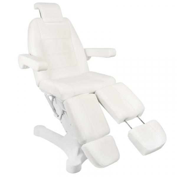 Fotel Kosmetyczny Elektr. A-207c Pedi White/Ivory (5 Silników) #3
