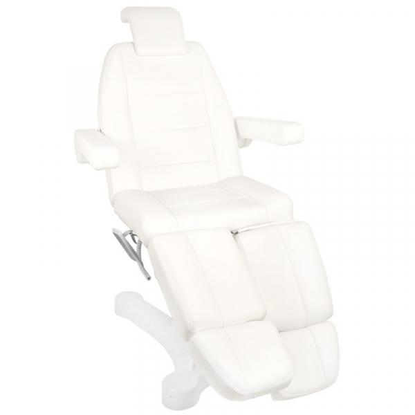 Fotel Kosmetyczny Elektr. A-207c Pedi White/Ivory (5 Silników) #4